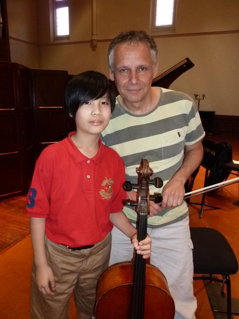 Photo with Pieter Wispelwey